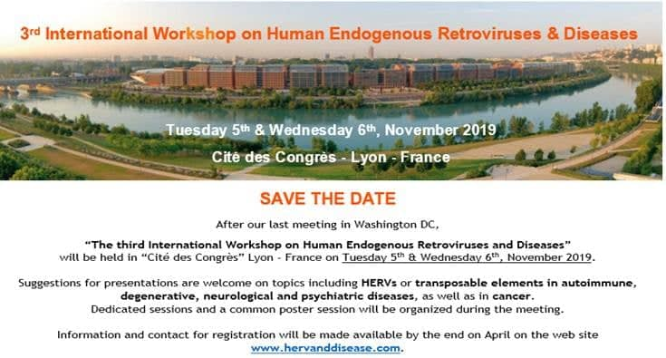 3rd International Workshop on Human Endogenous Retroviruses & Diseases