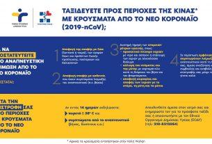 Οδηγίες προστασίας από το νέο κοροναϊό (Υπουργείο Υγείας)
