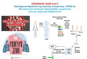 ΚΟΡΩΝΟΙΟΣ SARS-CoV-2: Πρόληψη και θεραπεία της ιογενούς πνευμονίας COVID-19.